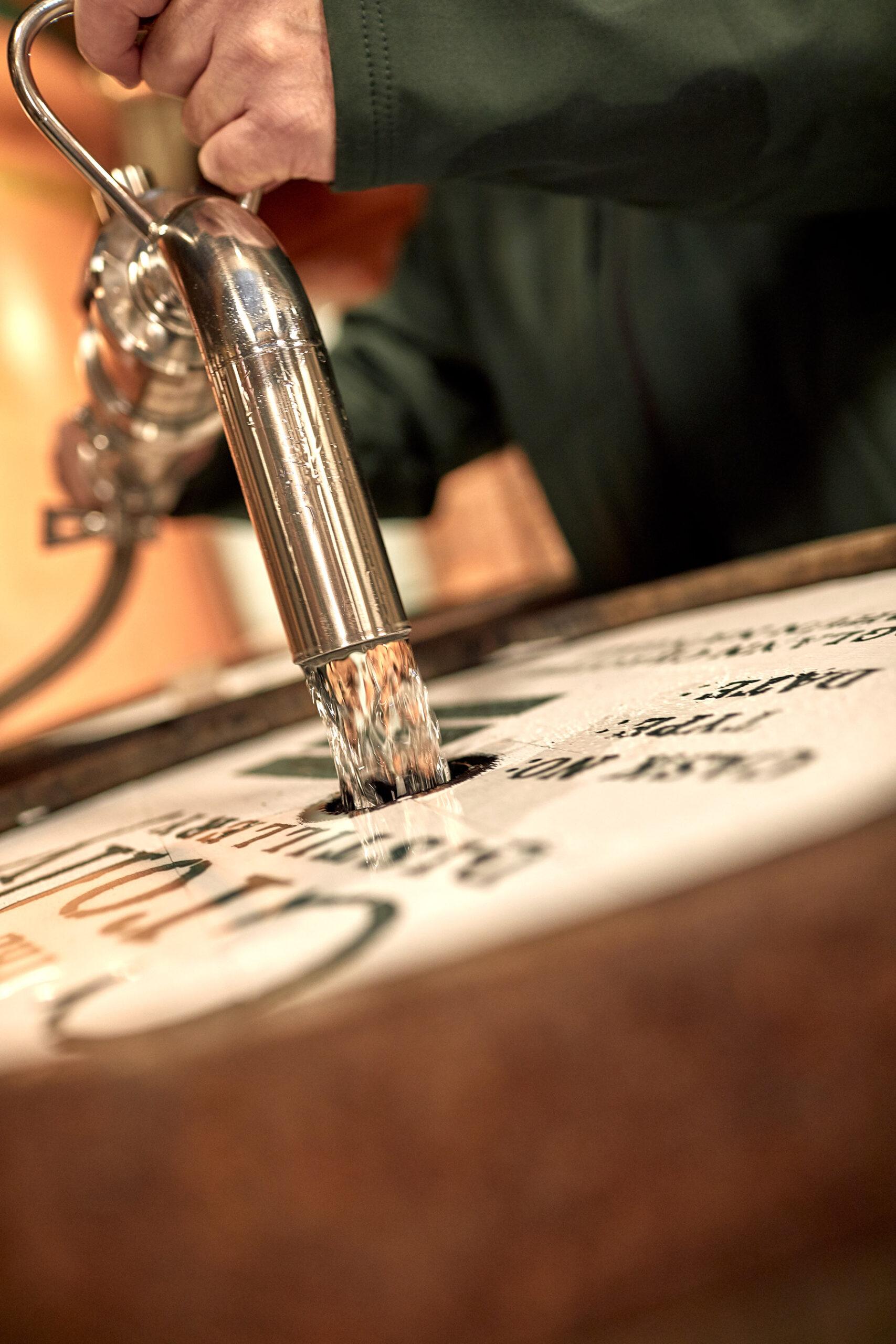 Crolly Distillery First Casks Fill